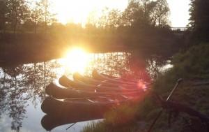 Sonnenuntergang bei Falkenberg